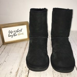 Black UGG Boots Size 7 GUC